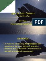 Sign of Fetal Distress