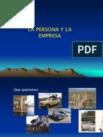 Persona y Empresa