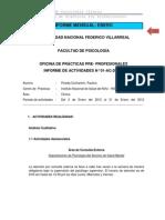 Informe Mensual Enero Internado2012