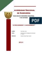 E Procurement E Government