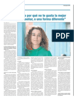 Periodico ESCUELA 3983 Isabel Vizcaino