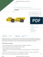 Minetruck MT2010_ Camión de interior - Atlas Copco Perú