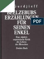 G.I. Gurdjieff - Beelzebubs Erzählungen für seinen Enkel - Buch II