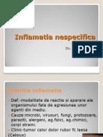 Inflamatia nespecifica