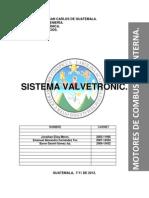 Valvetronic Motores Investigacion