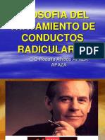 Endodoncia 5.- Filosofia Del Trat. de Conductos