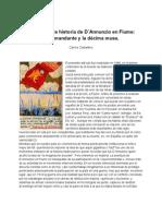 D'Annunzio en Fiume