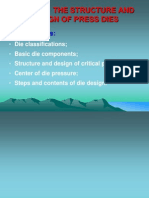 Chapter3 the Structure and Design of Press Dies