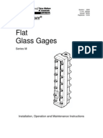 Indicadores de Nivel IOM - 2950M (08-05) - Series M Flat Glass Gages