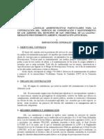 PCAP - Mantenimiento Jardines