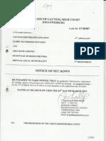 Notice of Set Down1