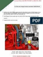 Troy Bilt Pony Intek Engine Replacement
