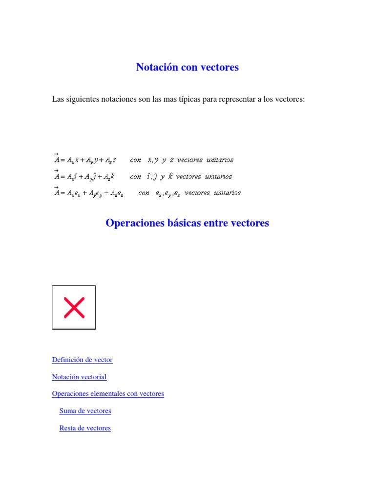 35640dfb68f58 Notación con vectores