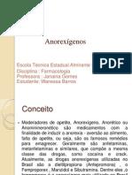 apresentaçao de farmacologia - anorexígenos