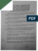 Termination Resolution 2013
