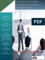 Anteproyecto de Modificaciónal Anexo 1-A de la Resolución Miscelánea Fiscal para 2013