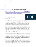 The Culture of Advertising In The Culture of Advertising in