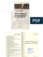 Breve Historia de La Barbarie en Occidente 2005