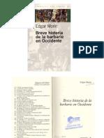 Breve Historia de La Barbarie en Occidente 2005