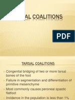 Tarsal Coalitions