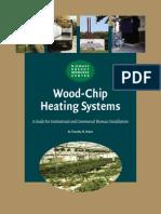 Biomass woodchip heating system