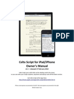 Celtx Script Owners Manual