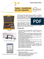 PET Integrite Par Impulsion
