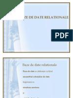 Baze de Date Relationale