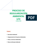 Proceso de Regulacion Ambiental