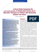 copy of cost effectiveness of prp for diabetic foot ulcers dougherty 2008