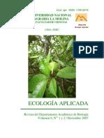 ecologia aplicada