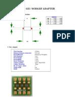 SOD123 / SOD123F Adapter Board