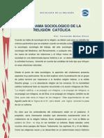 PANORAMA SOCIOLÓGICO DE LA RELIGIÓN CATÓLICA