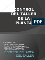 Control de Los Talleres de La Planta