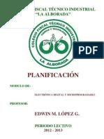 Planificacion Del Modulo de Electronica Digital y Microprogramable 2012-2013 1 Para Imprimir