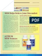 Joint Formula -MSM