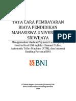 Tata Cara Pembayaran Mahasiswa Unsri (Bni)