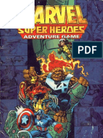 Marvel Super Heroes Adventure Game (SAGA) RPG - Roster Book