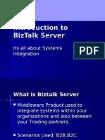 Introduction to BizTalk Server