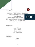 Proyecto de Transferencia de Calor II