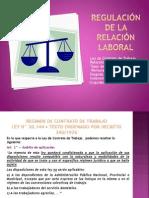 Regulación de la relación laboral