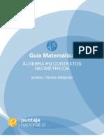 Álgebra en contextos geométricos
