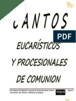 Cantos Eucaristicos Con Acordes 2012
