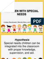 Children With Special Needs Presentation
