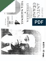 GRAMSCI - Literatura y Vida Nacional (Literatura Popular y Bservaciones Sobre El Folklore)