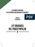 Ley Organica Del Poder Popular