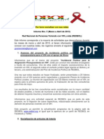 Informe Nro 5 Redbol Marzo-Abril 2013