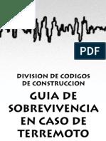 Guía en caso de Terremoto