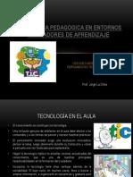 La práctica pedagógica en entornos innovadores de aprendizaje