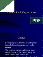 Vertical Pitch Organization